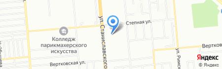 СибДельта на карте Новосибирска
