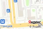 Схема проезда до компании Плутон в Новосибирске