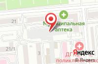 Схема проезда до компании Ладушки в Новосибирске