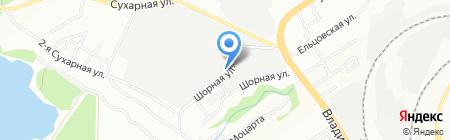 НК-Сибирь на карте Новосибирска