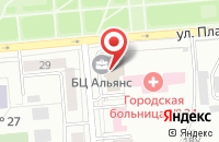 Схема проезда до компании Вега в Новосибирске