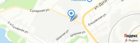 Фабрика Интерьера на карте Новосибирска