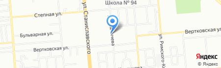 Политех-Климат на карте Новосибирска