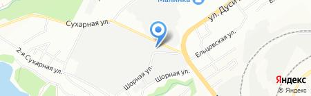 Озоновый дом на карте Новосибирска