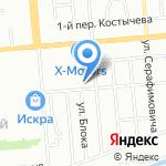 ДендроСад на карте Новосибирска