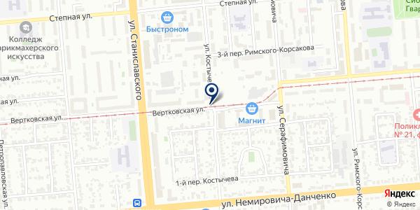 Мех-клуб на карте Новосибирске