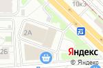 Схема проезда до компании Металлург в Новосибирске
