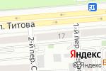 Схема проезда до компании Мясной День в Новосибирске