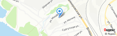 Альянсторг на карте Новосибирска