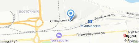 Car Service на карте Новосибирска