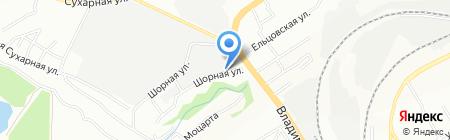 Союзпродопт на карте Новосибирска