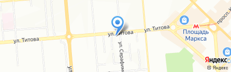 Агентство недвижимости ГОРОДСКОЙ ЖИЛИЩНЫЙ ЦЕНТР на карте Новосибирска