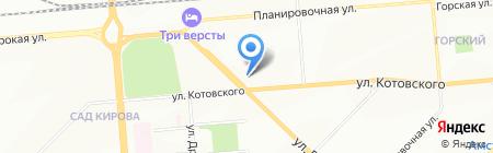 Магазин цветов на карте Новосибирска