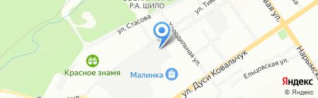 АВТОЭЛЕКТРОНИКА Гибрид Сервис на карте Новосибирска