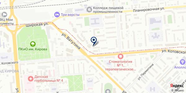 Мастерская по ремонту обуви и изготовлению ключей на карте Новосибирске