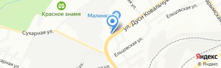 Автохолод на карте Новосибирска