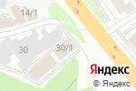 Схема проезда до компании Азия в Новосибирске