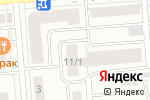 Схема проезда до компании Инотекстик в Новосибирске