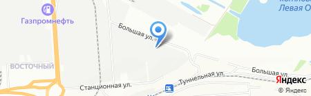 Холоарт на карте Новосибирска