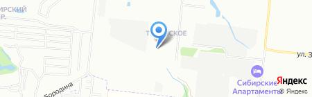 Цитрус на карте Новосибирска