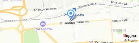 ХладоВент на карте Новосибирска