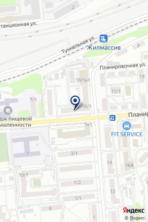 ТТК на карте Новосибирска