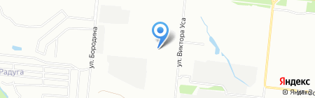 Хозяин на карте Новосибирска