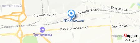 Автодело на карте Новосибирска