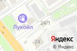 Схема проезда до компании Армейский в Новосибирске