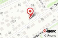 Схема проезда до компании Академия чистоты в Иваново