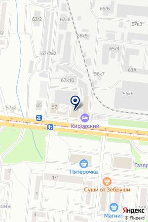 ТАКСИ ШТЫКОВ И К на карте Новосибирска