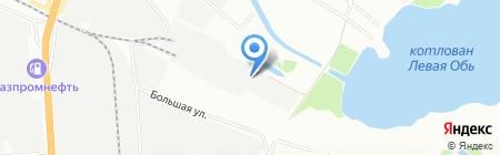 Инотон на карте Новосибирска