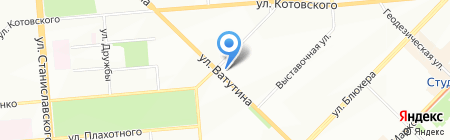 Магазин сантехники и проката электроинструмента на карте Новосибирска