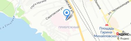 Карусель на карте Новосибирска