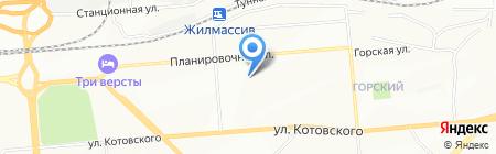 Квартирный Теплосчетчик на карте Новосибирска