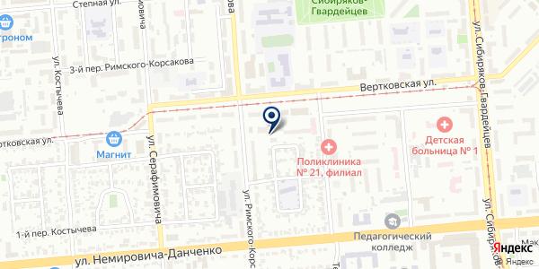 Ателье по пошиву и ремонту одежды на карте Новосибирске