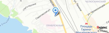 Техимпорт на карте Новосибирска