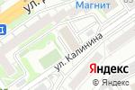 Схема проезда до компании Моя Школа в Новосибирске