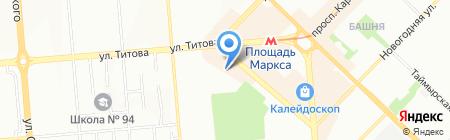Stand Up город N на карте Новосибирска