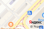 Схема проезда до компании Финтерра в Новосибирске