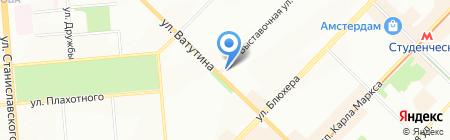 Ярче! на карте Новосибирска