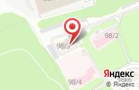 Схема проезда до компании Сибмед-2002 в Новосибирске