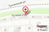 Схема проезда до компании Таята в Новосибирске