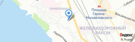 Детский сад №215 Кораблик детства на карте Новосибирска