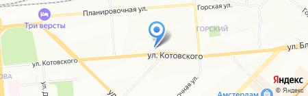 Ажур на карте Новосибирска