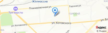 Детский сад №348 на карте Новосибирска