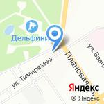 Дипьетра на карте Новосибирска