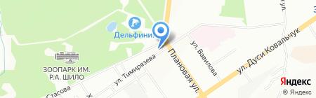ТрансКонтейнер ПАО на карте Новосибирска