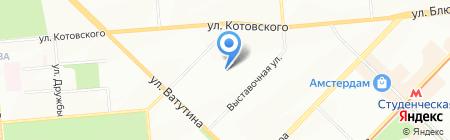 СибТонерСервис на карте Новосибирска