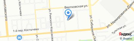 Новосибирский инженерный центр на карте Новосибирска